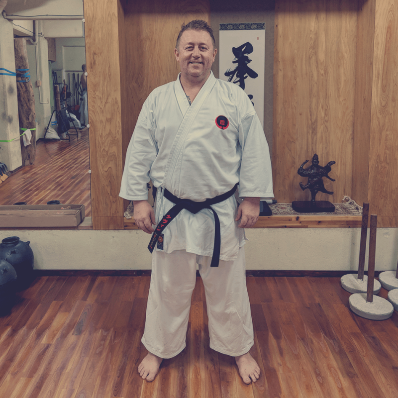 Sensei Kev Kennedy